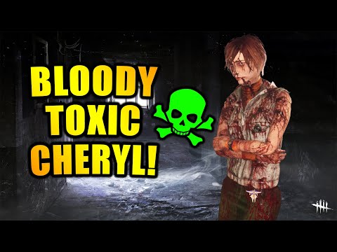 BLOODY TOXIC CHERYL! Silent Hill Survivor Gameplay Dead By Daylight  