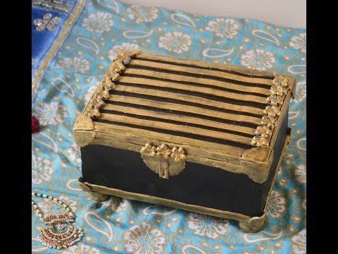 How To Make A Jewel Box Cake With Fondant Accents