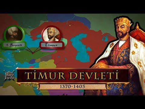 Timur Devleti (1370-1405) | Haritada Tarih