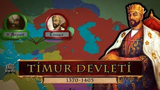 Timurid Empire (1370-1405) | History on Map