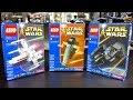 RARE LEGO Star Wars KABAYA Sets! | X-Wing, Slave 1, & Tie Interceptor