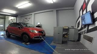 Renault Captur 0.9 TCE 90cv Reprogrammation Moteur @ 114cv Digiservices Paris 77 Dyno