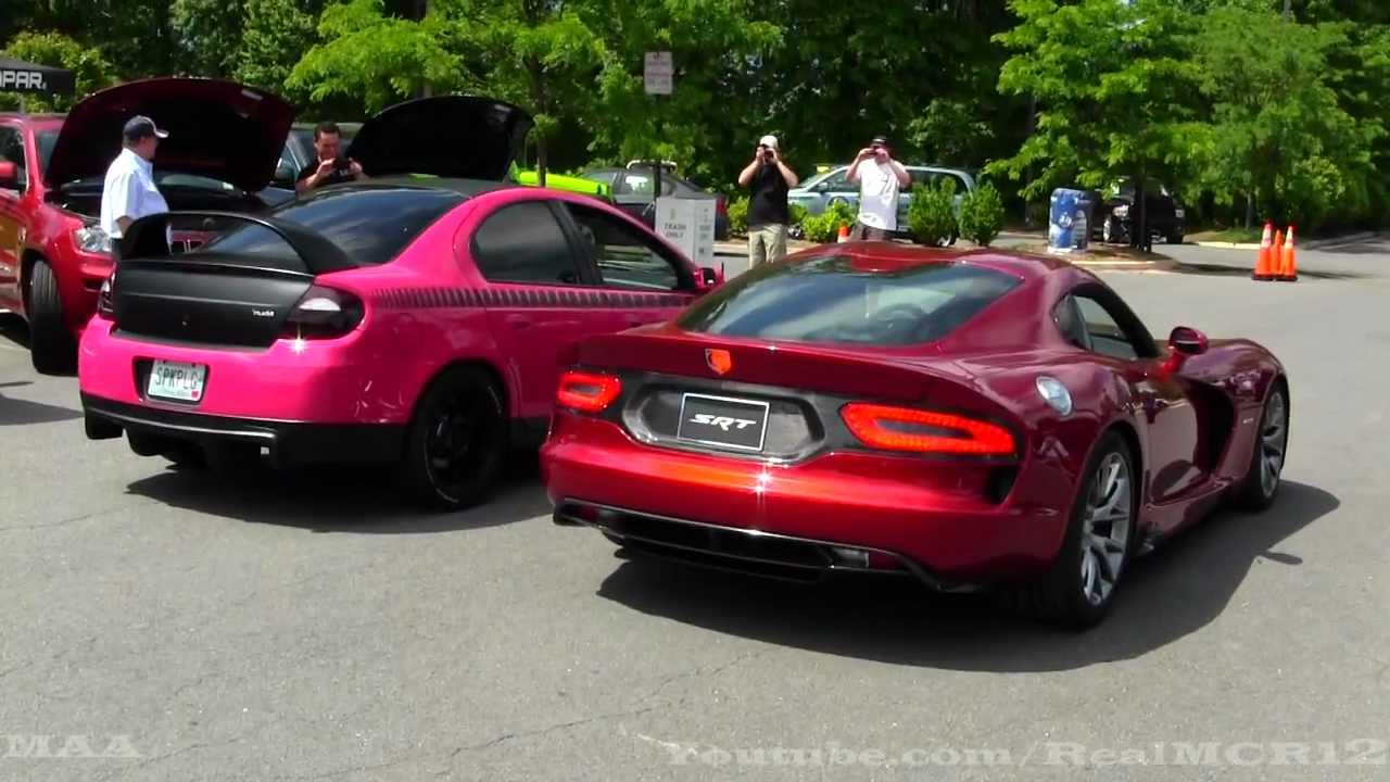 2013 Srt Viper Gts Driving Engine Sound Rev Youtube