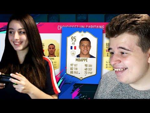 MA COPINE FAIT MA DRAFT ! - FIFA 19