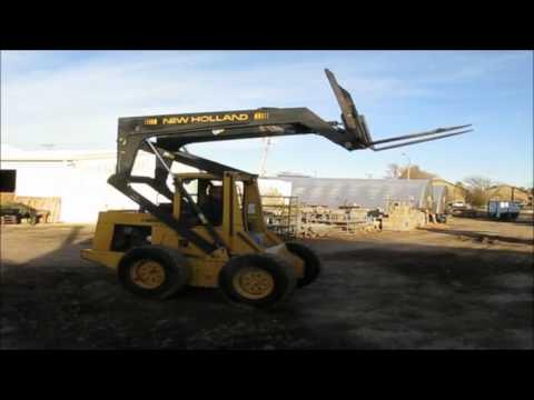 New Holland L783 Skid Steer For Sale