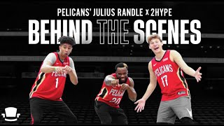 New King of 2HYPE? Behind the Scenes w/ 2HYPE vs Pelicans' Julius Randle thumbnail