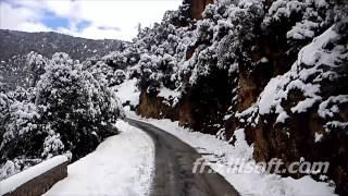 elksiba La route régional d'elksiba Tghbalout