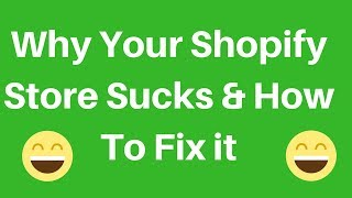 Review my Shopify Store Part 1 - Why you are not making sales - Website Optimisation.