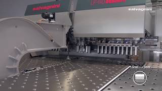 Salvagnini panel bending: P4lean-2116 kit production with heavy gage parts