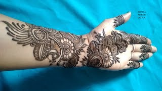 New, Unique & Stylish Henna Mehndi Design For Hands | Mamta Mehndi Design