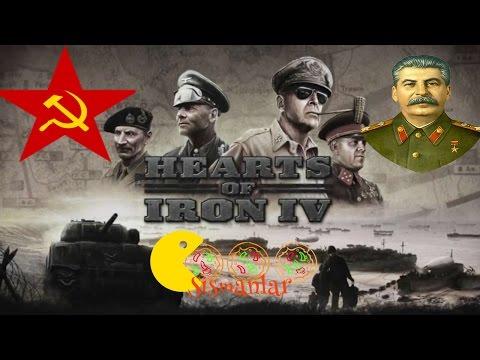 Stalin vs Hitler zamanı || Hearts of Iron IV - Rusya (Soviet Union) - Bölüm 3
