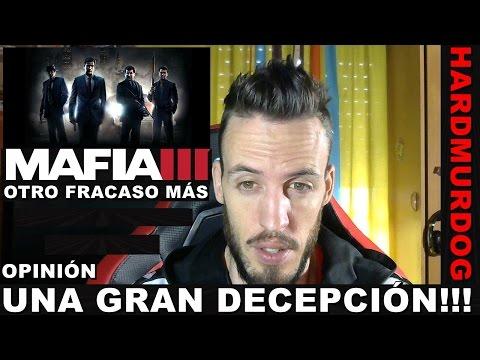 ¡¡¡MAFIA 3: DECEPCIONANTE!!! Hardmurdog - Mafia III - Opinión - Español
