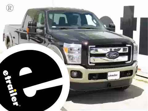 Installation of a Front Mount Trailer Hitch on a 2012 Ford F-250 - etrailer.com