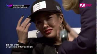 Kisum tries to get Jessi hyped   Yes or No Zico   Unpretty Rapstar episode 2