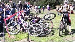 Bike Race Start Gone Wrong | Not So Happy Wheels