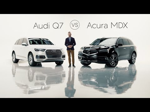2019 Audi Q7 Road Test & Review vs. the 2019 Acura MDX