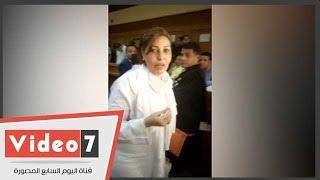 سعاد الخولى لمصورى محاكمتها:
