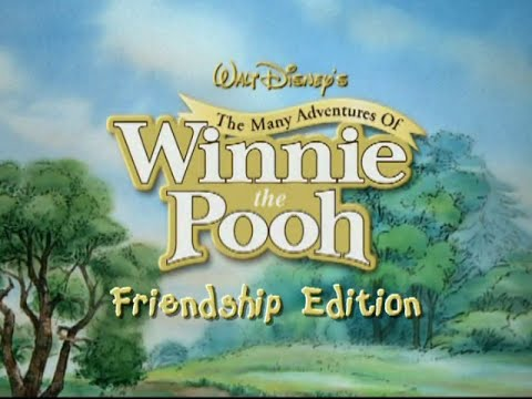 The many adventures of winnie the pooh the friendship edition dvd.