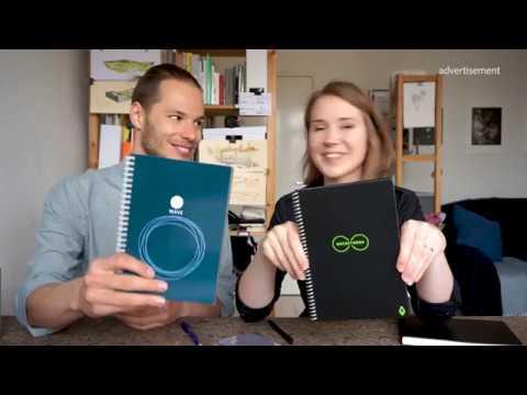 Rocketbook Sketchbook and Pilot Frixion Pens Review