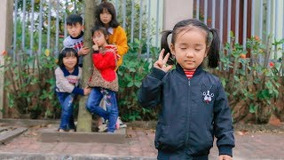Outdoor Playground for kids! Kuzin and Friends play Folk Games Hide and Seek w/ Children Song