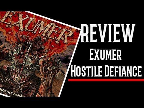 Exumer - Hostile Defiance 2019 Mi Reseña