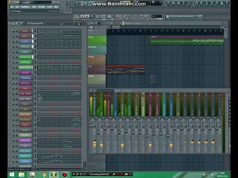 Menunggu (Koplo Version) -  FL Studio 11 by Aries Albhana