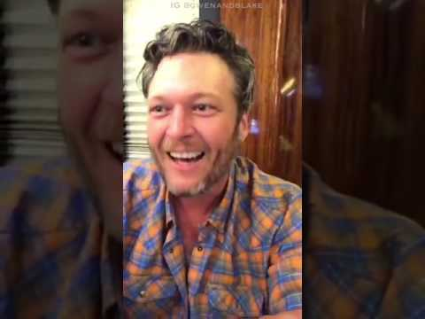 Blake Shelton on Facebook Live after Grand Ole Opry Performance 4/11/17