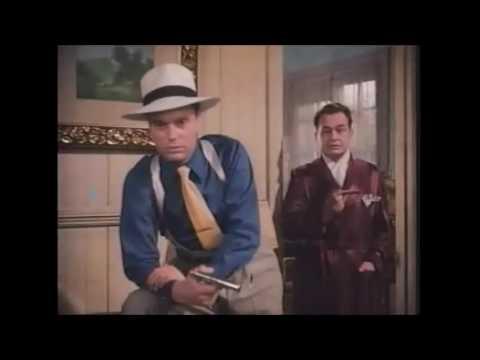 key largo 1948   Scene ,   Edward G Robinson / Lionel Barrymore, colorized scene