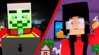 Minecraft School - The Hacker!   Sunnyside High Ep 3 (Minecraft Roleplay)