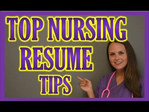 Nursing Resume | How to Create a Stunning Resume for Nurses, Doctors & Healthcare Workers