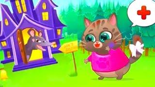 Котик Бубу Детская игра мультфильм Буба Котофей играл в Кошки Мышки Мультики