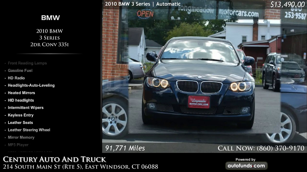 Used BMW Series Century Auto And Truck DW Feeds East - 2010 bmw truck
