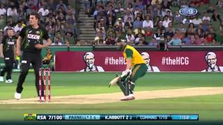 Aussie might too much for South Africa