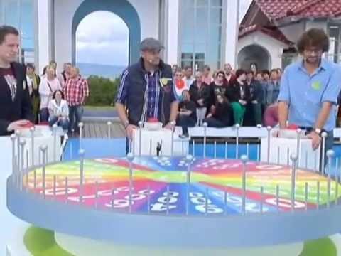 FREDERIC MEISNER MODERIERTE WIEDER GLÜCKSRAD - SPIEL. AM 17.AUGUST  IM ZDF ... .