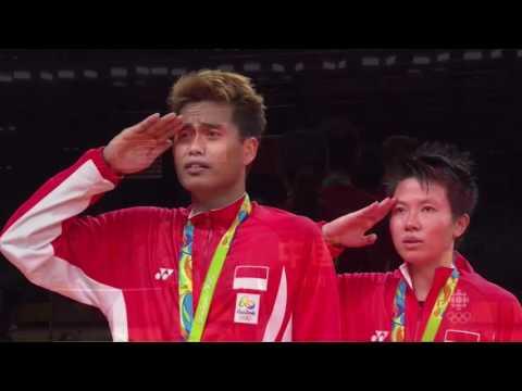 Congrats Tontowi Ahmad & Liliyana Natsir - Indonesia Raya
