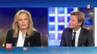 LE RIRE DE SYLVIE VARTAN AU JOURNAL FRANCE 2 JT 2OH DU 06-10-13