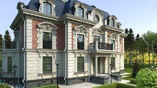 видео Проекты французских домов