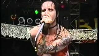 Repeat youtube video Marilyn Manson - Beautiful People Live At Bizarre Festival 1997