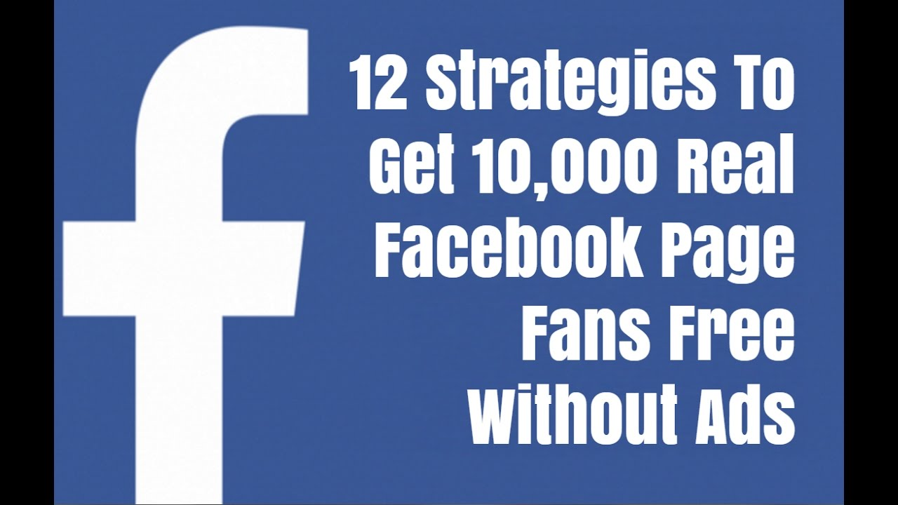 how to get fans on facebook page free