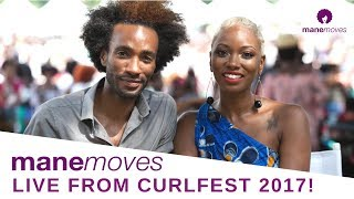 Mane Moves LIVE from Curlfest 2017!