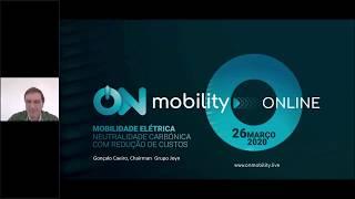 Evento ON MOBILITY Mitos da Pegada da Mobilidade Elétrica