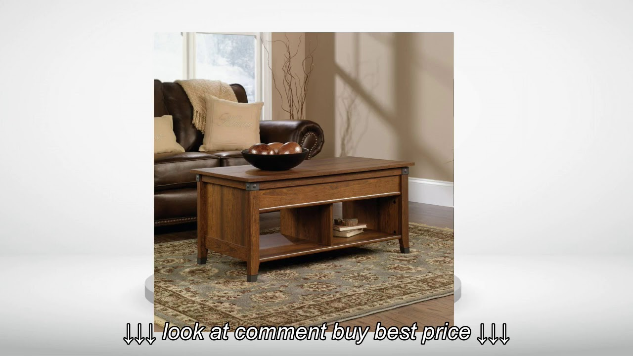 Sauder Carson Forge Lift Top Coffee Table Reviews
