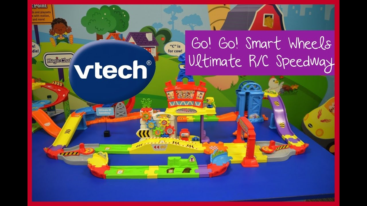 Vtech Go Go Smart Wheels Ultimate R C Speedway Preview