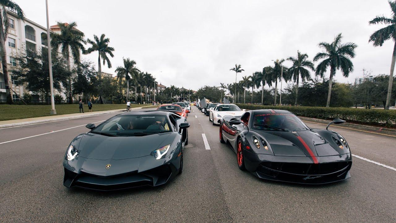 World S Greatest Supercars Blasting By Pagani Lamborghini