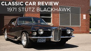 1971 Stutz Blackhawk | Classic Car Review | Driving ca
