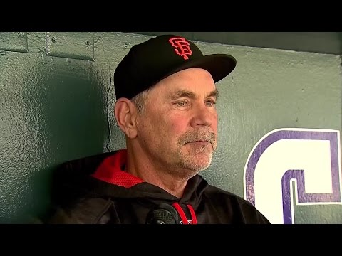 "Bruce Bochy: ""I Wouldn"