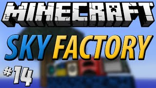 Minecraft Sky Factory - Part 14 - The Lamp Of Growth!!