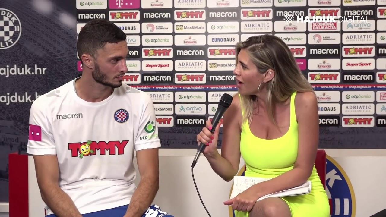 Bassel Jradi nakon utakmice Hajduk - Osijek 0:1