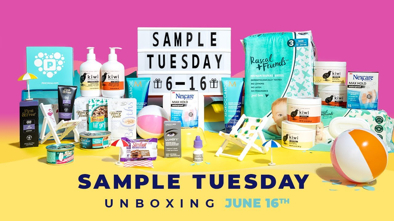June Sample Tuesday Unboxing