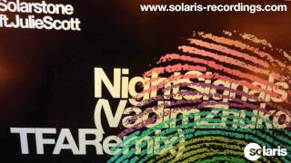 Solarstone ft. Julie Scott - Night Signals (Vadim Zhukov TFA Remix)